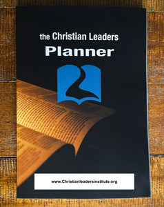 the Christian Leaders Planner - Study the Bible