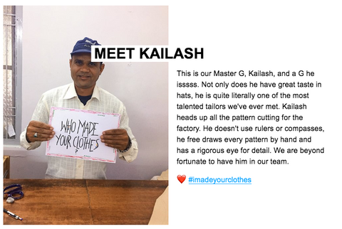 Kailash - meet the team