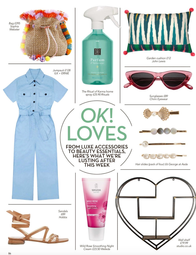 Farah Jumpsuit in OK magazine