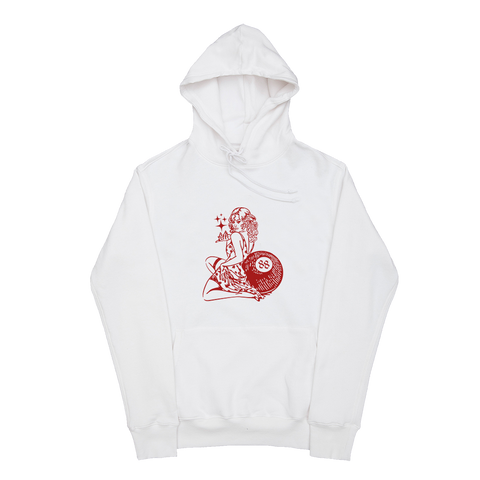 88Glam White Hoodie + Digital Album