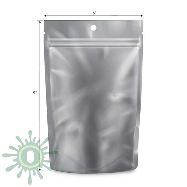 Loud Lock All States Mylar Bags - White/clear 1 Oz 1000 Count / Collective Supplies