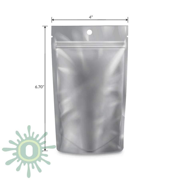 Loud Lock All States Mylar Bags - White/clear 1/4 Oz 1000 Count / Collective Supplies