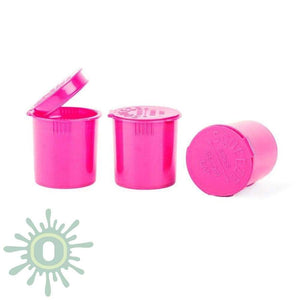 Loud Lock Child Resistant Pop Top Vials - Pink 6 Dram 600 Bottles Per Case / Collective Supplies