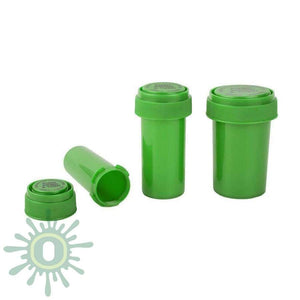 Loud Lock Green Reversible Cap Vials Collective Supplies