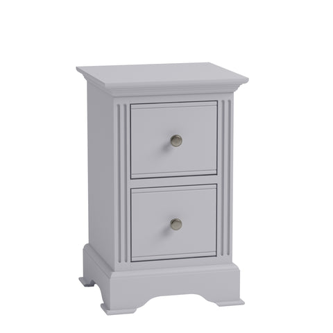Brunel Grey - Small Bedside