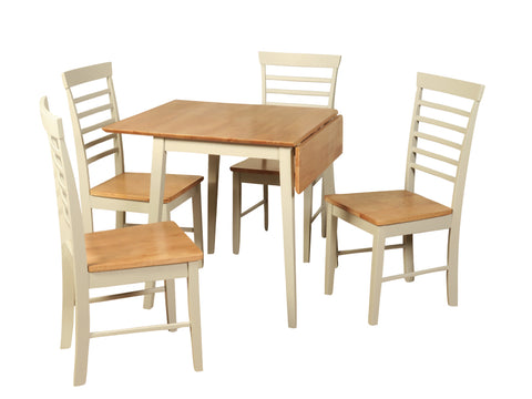 Berlin - Square Drop Leaf -  Dining Set