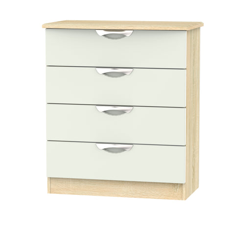 Ealing - Kashmir / Light Wood - 4 Draw Chest