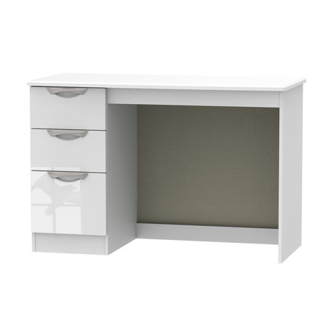 Ealing - White Gloss / White - Desk