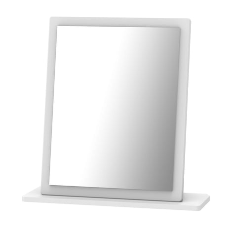 Ealing - White Gloss / White - Small Vanity Mirror