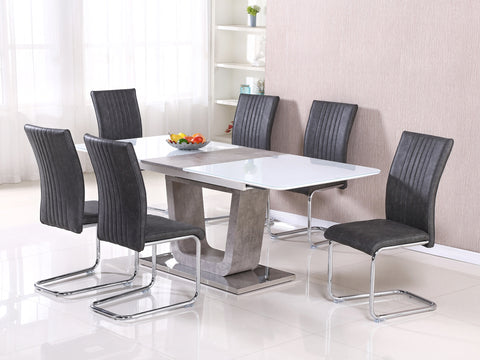 Claudia - 160cm Extending Dining Set