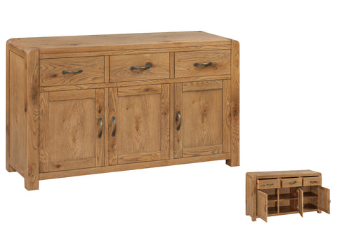 Capri - 3 Door Sideboard