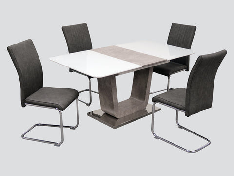 Claudia - 120cm Extending Dining  Table