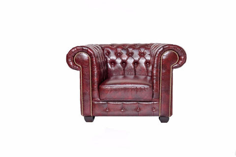 Chesterfield - Oxblood Red