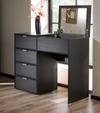 Daniel Range (Black) - Dressing Table