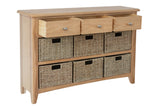 Grantham Oak - 3 Draw & 6 Basket Unit