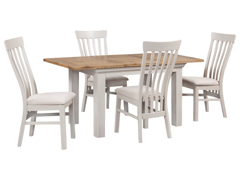 Lyon Painted - 140cm Table & Chairs