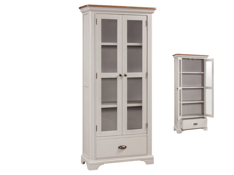 Lyon Painted - Display Cabinet