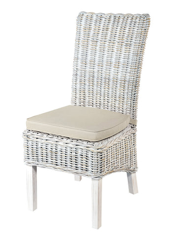 Miya - Dining Chair (White)