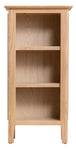 Newport Oak - Small Narrow Bookcase