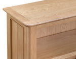Newport Oak - Small Bookcase