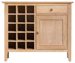 Newport Oak - Wine Cabinet