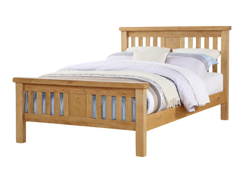 Rustic Oak - High End Bed Frame