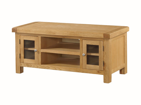 Rustic Oak -  Large TV Unit