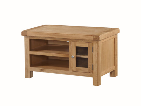 Rustic Oak -  TV Unit