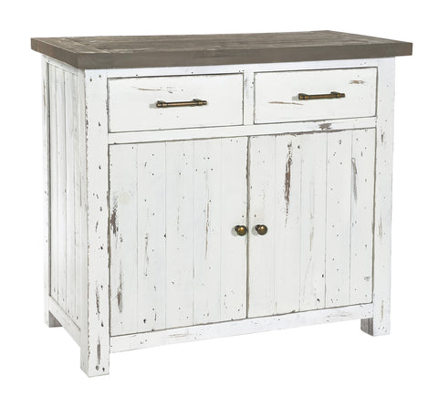 White Driftwood - Small Sideboard