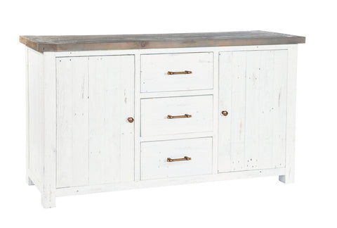White Driftwood - Large Sideboard