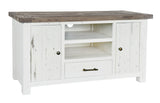 White Driftwood - TV Unit