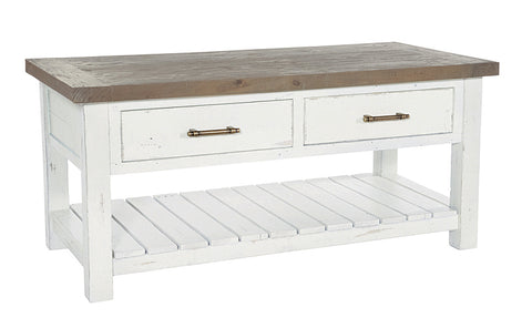 White Driftwood - Coffee Table