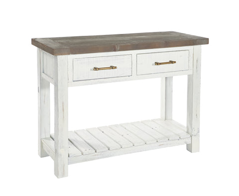 White Driftwood - Console Table