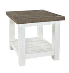 White Driftwood - Lamp Table