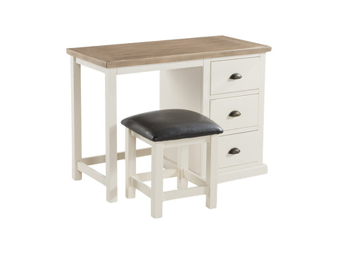 Painted Pine /Ash - Dressing Table & Stool
