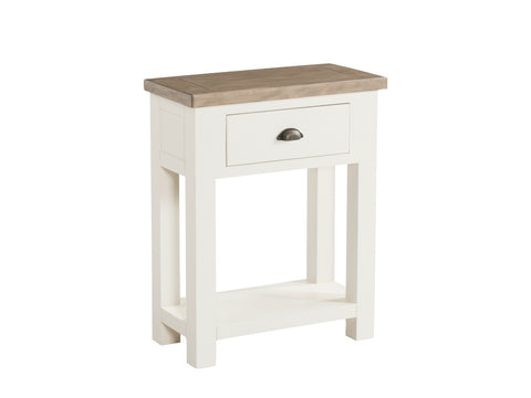 Painted Pine /Ash - Small Console