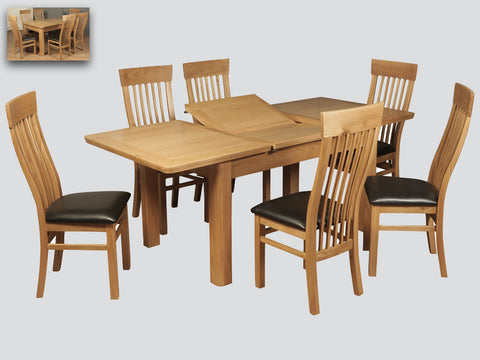 Treviso - 140cm Extending Table & Chairs