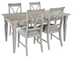 Bordeaux (Grey) - Extending Table