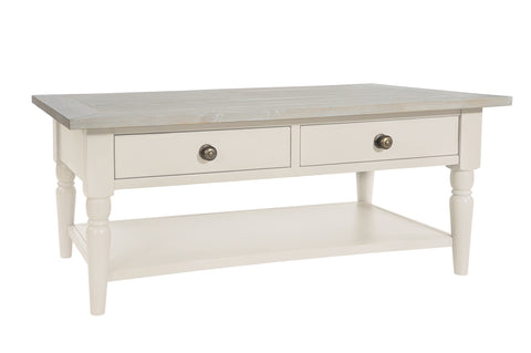 Bordeaux (Ivory) - Coffee Table