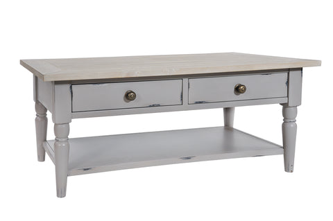 Bordeaux (Grey) - Coffee Table