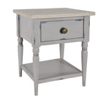 Bordeaux (Grey) - Bedside Table