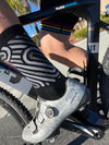 Pure Gravel Wool Socks on bike