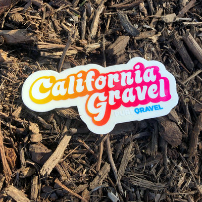 California Gravel Sticker