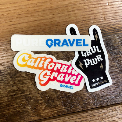 Pure Gravel Sticker Pack