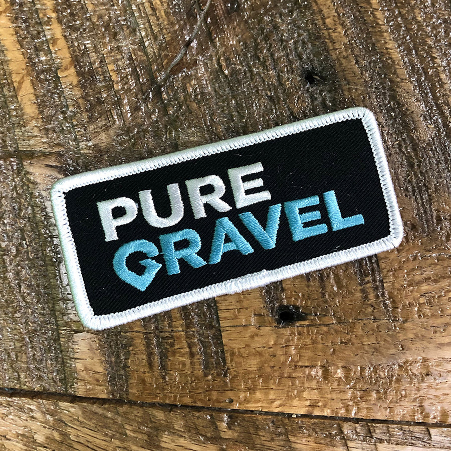 Pure Gravel Logo Patch