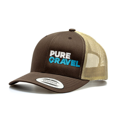 Pure Gravel hat: brown