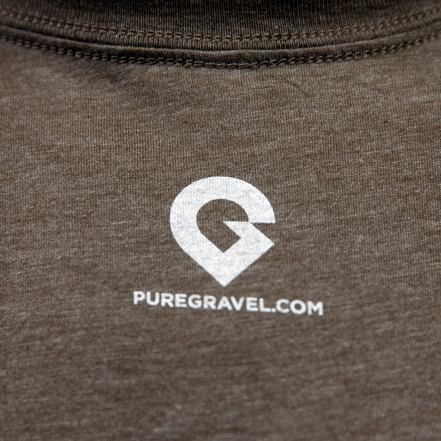 Pure Gravel shirt: old fashioned brown