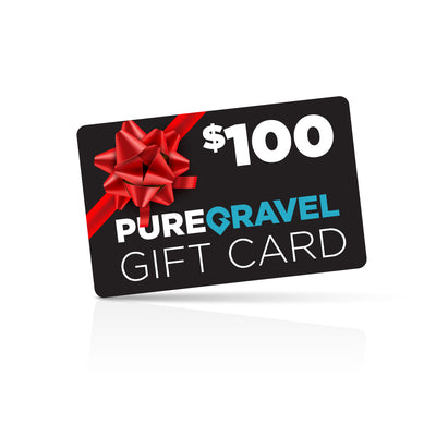 pure gravel $100 gift card