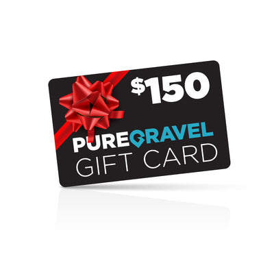 pure gravel $150 gift card
