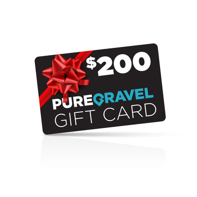 pure gravel $200 gift card